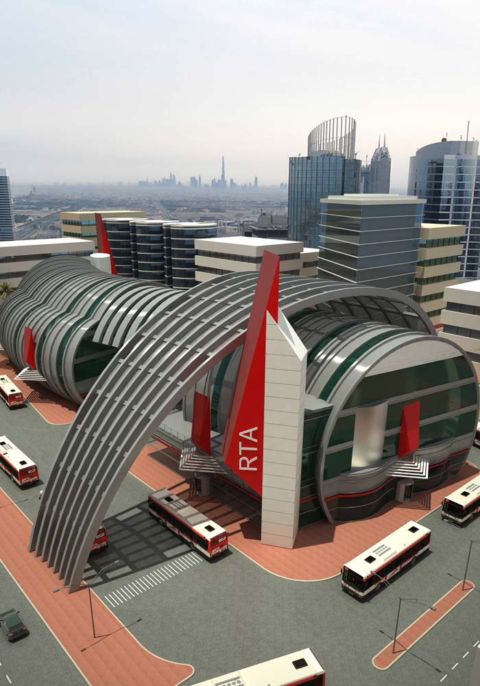 Dubai bus stations